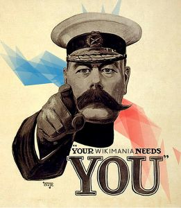 Your Wikimania Needs You