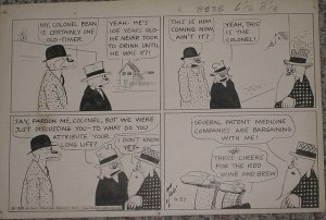 Comic pokes fun at patent medicines